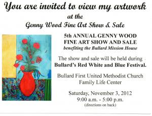 5th Annual Genny Wood Fine Art Show And Sale
